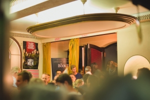 The crowds descend on the Labia box office. Pic: Claire Gunn.