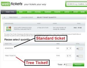 Tree Ticket Webtickets
